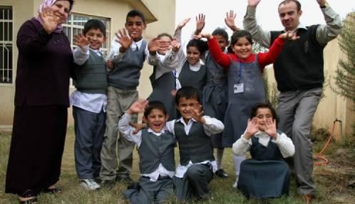 Onderwijs aan dove kinderen in Koerdistan/Noord-Irak