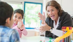 Nederlandse Gebarentaal als tweede taal op school