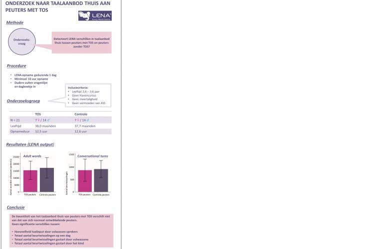 Figuur 5: Samenvatting onderzoeksresultaten