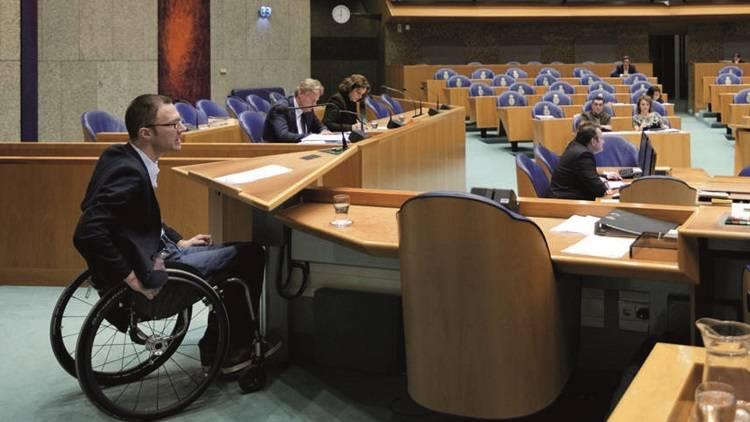 """PvdA woordvoerder Otwin van Dijk: """"Toegankelijkheid moet normaal worden, ontoegankelijkheid wordt de uitzondering."""""""