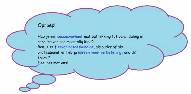 Stuur je reacties aan m.blumenthal@kentalis.nl