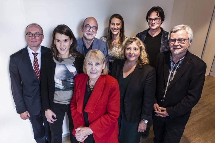 De sprekers op het van der Lem symposium 2015